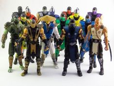 Loose Mortal Kombat action figures by Jazwares. Pictured are all the Klassic and Modern figures that have been released so far. Figures from. Mortal Kombat 9, Mortal Kombat Figures, Sonya Blade, Johnny Cage, Liu Kang, Thundercats, Gi Joe, Ultimate Mortal Kombat 3, Kung Lao