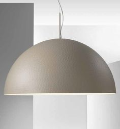 This Fabulous Oversized Grey Dome Pendant Perfect For Your Kitchen Island Or Dining Table Comes From One Of Our Favourite Italian Lighting Manufacturers