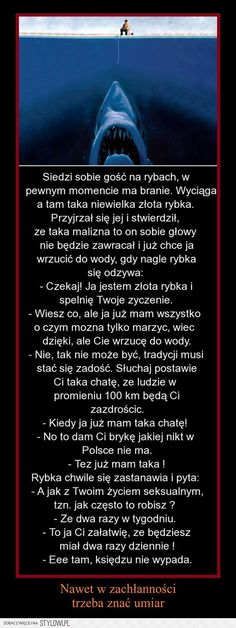 Stylowi.pl - Odkrywaj, kolekcjonuj, kupuj Funny Quotes, Funny Memes, Jokes, Keep Smiling, Wtf Funny, Man Humor, Motto, Inspirational Quotes, Lol