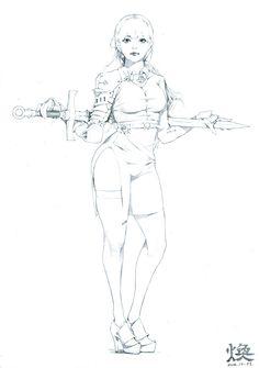 ArtStation - Fantasy concept sketches, Hwan (煥)