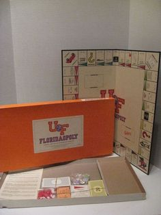 Floridaopoly UF Gators 1st Edition 1987 College Board Game University of Florida #LatefortheSky