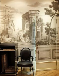 grisaille mural