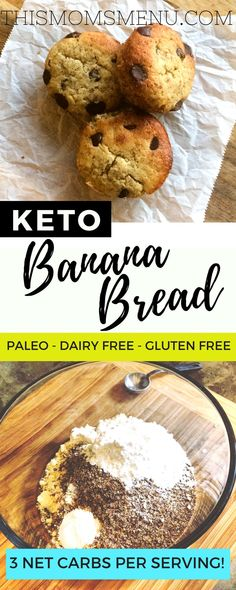 Keto banana bread with less then 3g of carbs per serving is too good to be true, right? WRONG! Try this recipe and prepare to be amazed!