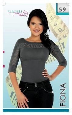 Fajate Body Shaping Top - Fiona $28.99 Elegant lace elevates this pretty top, while slimming your middle and arms.