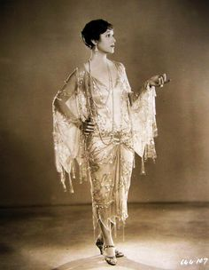 Florence Vidor | Art Deco 1920s Gown | Flapper | 1920s Hollywood