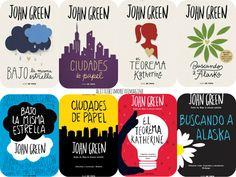 La Mecánica de las Palabras: Noticiero literario: nuevas portadas de Jonh Green...
