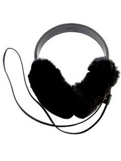 Gucci Rabbit Fur Headphones via glamour: $241 #ScoreSense