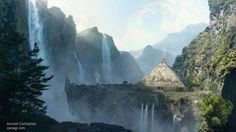 Ancient Civilisation mattepainting by Cassagi