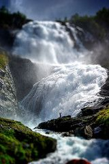 Kjosfossen Waterfall nearby Flam, Norway - Credit: Creative Commons