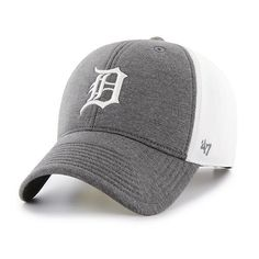 afb3706b605 Detroit Tigers Haskell MVP 47 Brand Charcoal Adjustable Hat