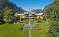 """The Dalen Hotel is known as """"the hotel from the fairytales"""". It was opened in 1894 in a grand romantic style with dragon heads, towers and spiers, balconys and cornices. Norwegian Vikings, Function Room, Hotel Staff, Local History, At The Hotel, Norway, Trip Advisor, Cornices, Romantic"""