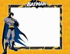 Batman Party: Free Printable Mini Kit. Free Printable Bookmarks, Free Printable Invitations, Printable Paper, Free Printables, Party Labels, School Frame, Batman Party, Mini, Album