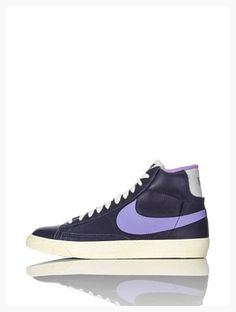 nike womens unisex blazer MID LTHR VNTG hi top trainers 525366 402 sneakers shoes (uk 8.5 us 11 eu 43) (*Partner Link)