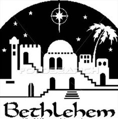 silhouette of bethlehem town | 984 - O Little Town Of ...