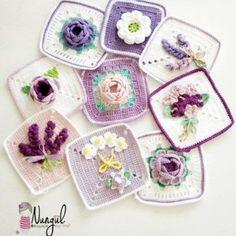 Watch The Video Splendid Crochet a Puff Flower Ideas. Wonderful Crochet a Puff Flower Ideas. Crochet Puff Flower, Knitted Flowers, Crochet Flower Patterns, Tatting Patterns, Crochet Cushion Cover, Crochet Cushions, Crochet Pillow, Crochet Chart, Crochet Motif