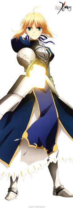 The King of Knights / Arturia/Artoria/Altria/Arthur Pendragon / Saber Fate Zero, Fate Stay Night Series, Fate Stay Night Anime, Fate/stay Night, Night King, Fate Stay Saber, Ghibli, Manga Anime, Anime Art