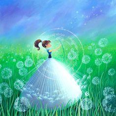 "https://www.facebook.com/MarieCardouatIllustratrice ...""Dandelions"" -  by Marie Cardouat"