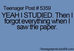 happens to me all the time. haha. i forget everything.