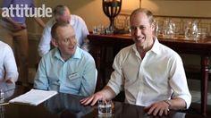 El Príncipe William para la revista LGBT Attitude | El Blog De Akío