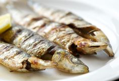 Grilled Sardines with Salsa Verde from South Sands Beachside Restaurant in Salcombe | South Sands Boutique Hotel & Beachside Restaurant