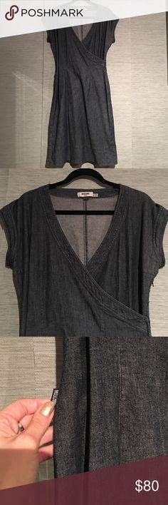 MOSCHINO DENIM DRESS SIZE 12 Flawless. Cotton denim stretch Moschino Dresses