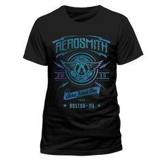 Aerosmith - Aero Force One heren unisex T-shirt zwart - Band merchand
