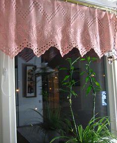 Valance Curtains, Crochet, Diy, Home Decor, Decoration Home, Bricolage, Room Decor, Ganchillo, Do It Yourself