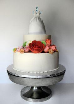 Bridal Shower Cake by Wendy DeBord