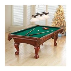 The Beringer Colonial Billiard Table. Perfect addition to your house fromserenityhealth.com