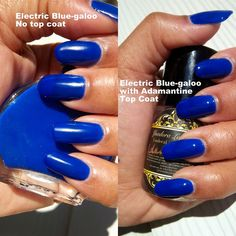 Cobalt Blue Nail Polish by YsadoraLacquers on Etsy