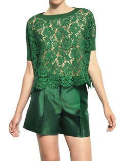 Cotton Viscose Lace Top - Lyst