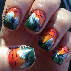 Rocky Mountains Nail Nails Nailart