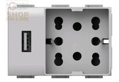 PRESA CORRENTE UNIKA USB UNIVERSALE VIMAR PLANA COD. 4B V14 H21 USB http://www.decariashop.it/materiale-elettrico/21233-presa-corrente-unika-usb-universale-vimar-plana-cod-4b-v14-h21-usb.html
