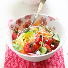 Spaghetti With Roasted Cherry Tomatoes, Lemon Thyme And Honey (via www.foodily.com/r/dYaAhEUg5)