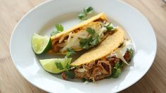 Spicy Slow-Cooker Chicken Tacos | Shine Food - Yahoo Shine