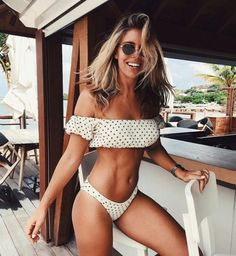 Shop for Lovers + Friends Just Dont Care Top in Star Print at REVOLVE. Bikini Bod, Bikini Swimwear, Swimsuits, Natasha Oakley, Polka Dot Bikini, Summer Swimwear, Lingerie, Cute Bikinis, Beach Babe