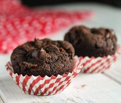 Pumpkin Chocolate Muffins -Paleo, Egg & Nut Free-5229 #Whole 30