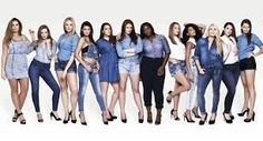 Image result for women body shapes denim