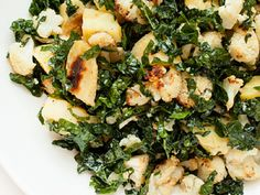 Thomas Dux - Kale Salad with Roasted Parsnips and Cauliflower. All other kale salads will be tossed aside!!