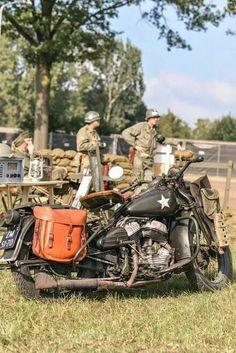 20,000 Harley-Davidson motorcycles were deployed during WWI.