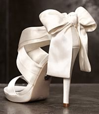 White by Vera Wang Shoes..... i have these in black! They are fabulous!