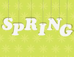 """Check out new work on my @Behance portfolio: """"Spring typography with flovery green background"""" http://be.net/gallery/36398939/Spring-typography-with-flovery-green-background"""