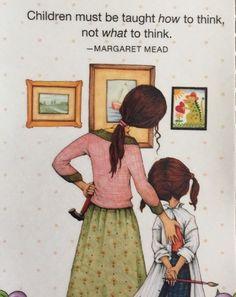 Children Must Be Taught-Handmade Fridge Magnet