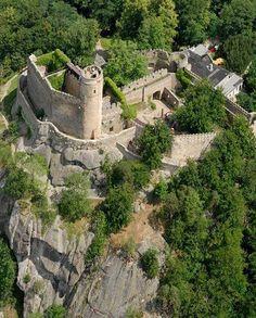 Chojnik Castle. West Poland (XVc)