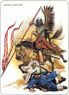 polish winged hussars, ending muslim invaders attack to bring jihad to Europe. The Poles save Europe from Islam!!