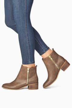 Buy Double Zip Ankle Boots from the Next UK online shop