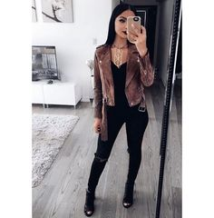 Outfits – 46 Casual Winter Outfits 2019 to Wear Everyday Winter Outfits For Teen Girls, Winter Outfits 2019, Club Outfits For Women, Winter Outfits For School, Casual Winter Outfits, Stylish Outfits, Fall Outfits, Summer Outfits, Cute Outfits