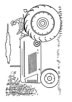 allis chalmers tractor coloring pages - photo#40