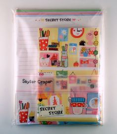 Kamio letter set Secret store 4991277057209