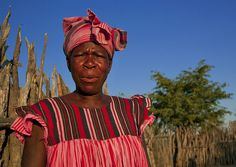 Ovambo Woman In Traditional Clothes, Ruacana Area, Namibia by Eric Lafforgue, via Flickr